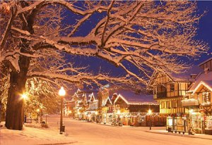 Christmas Lighting Festival in Leavenworth WA