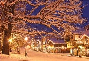 Christmas Lighting Festival in Leavenworth WA