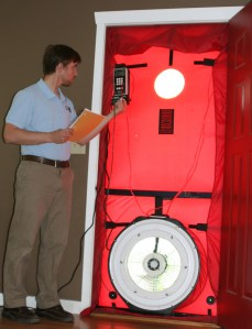 blower door test Wenatchee, Chelan, Leavenworth